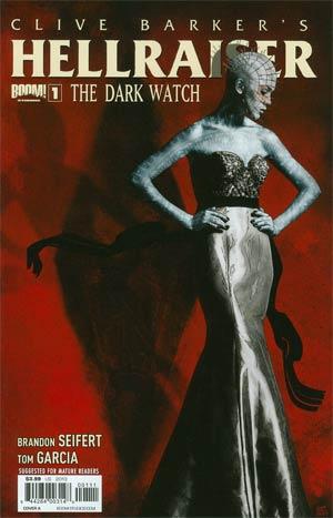 Clive Barkers Hellraiser Dark Watch #1 Regular Cover A Tim Bradstreet