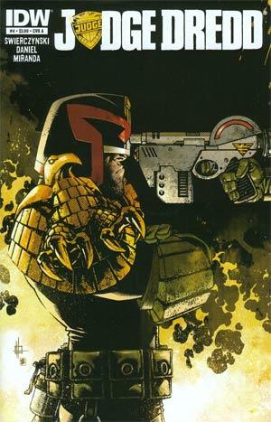 Judge Dredd Vol 4 #4 Regular Cover A Zach Howard