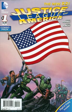 Justice League Of America Vol 3 #1 Combo Pack Without Polybag