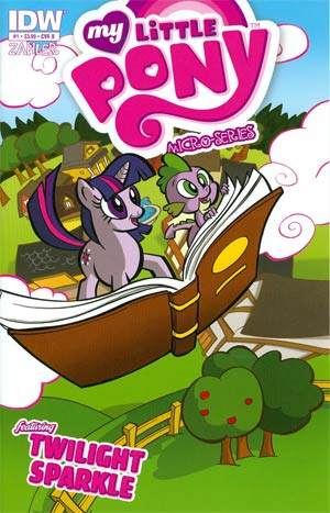 My Little Pony Micro-Series #1 Twilight Sparkle Regular Cover B Thomas Zahler