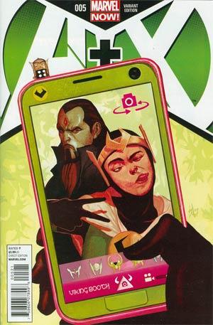 A Plus X #5 Cover B Incentive Mike Del Mundo Variant Cover