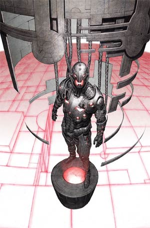 Age Of Ultron #1 Cover I Incentive Ultron Variant Cover