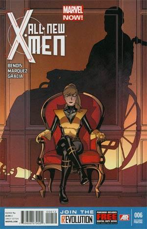 All-New X-Men #6 2nd Ptg Stuart Immonen Variant Cover