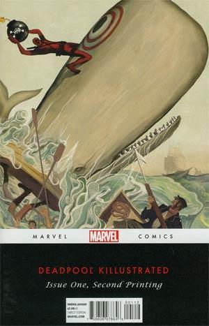 Deadpool Killustrated #1 2nd Ptg Matteo Lolli Variant Cover