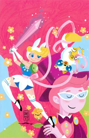 Adventure Time Fionna & Cake #3 Incentive Lea Hernandez Virgin Variant Cover