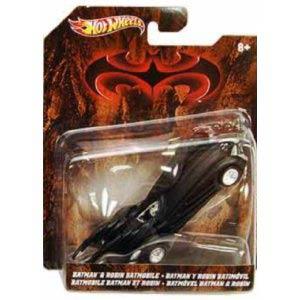 Hot Wheels Batman 1/50 Batman & Robin Batmobile
