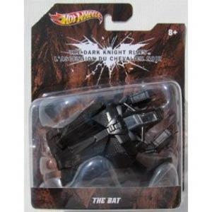 Hot Wheels Batman 1/50 Batman Dark Knight Rises The Bat