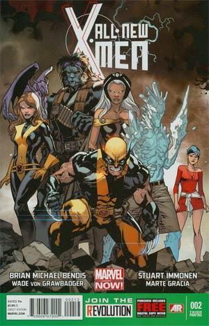 All-New X-Men #2 3rd Ptg Stuart Immonen Variant Cover