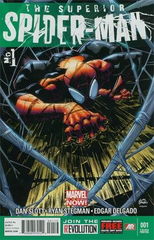 Superior Spider-Man #1 Cover M 3rd Ptg Ryan Stegman Variant Cover