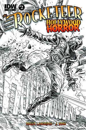 Rocketeer Hollywood Horror #2 Cover B Incentive Walter Simonson Sketch Cover