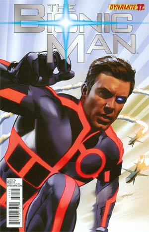Bionic Man #17 Regular Mike Mayhew Cover