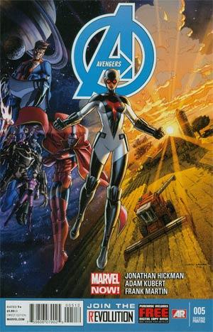Avengers Vol 5 #5 Cover D 2nd Ptg Adam Kubert Variant Cover