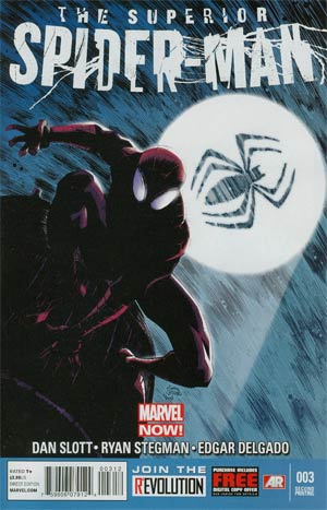 Superior Spider-Man #3 2nd Ptg Ryan Stegman Variant Cover