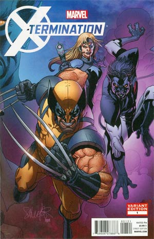 X-Termination #1 Cover B Incentive Salvador Larroca Variant Cover (X-Termination Part 1)