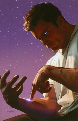 Bionic Man #18 Incentive Mike Mayhew Virgin Cover