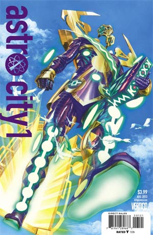 Astro City Vol 3 #1 Cover B Astro City Villains