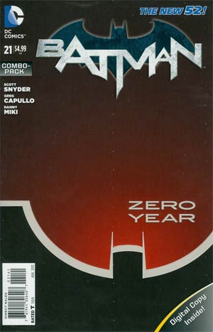 Batman Vol 2 #21 Cover B Combo Pack With Polybag (Batman Zero Year Tie-In)