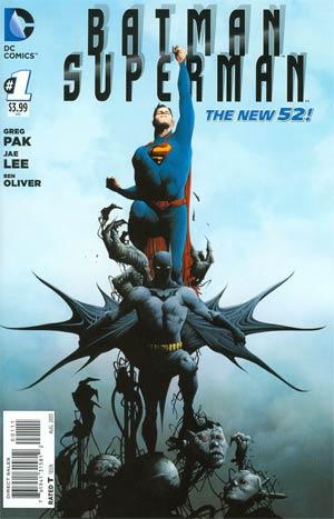 Batman Superman #1 Cover A Regular Jae Lee Cover