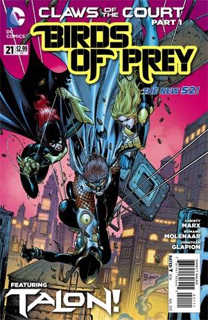 Birds Of Prey Vol 3 #21