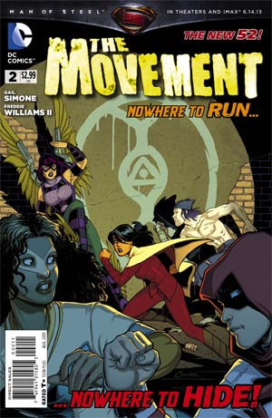 Movement #2 Cover A Regular Amanda Conner Cover