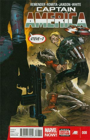 Captain America Vol 7 #8 Cover A Regular John Romita Jr Cover