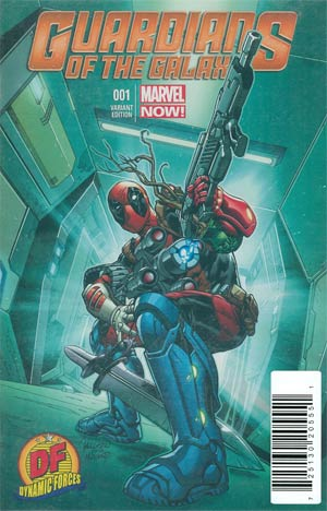 Guardians Of The Galaxy Vol 3 #1 Cover O DF Exclusive Carlo Pagulayan Deadpool Variant Cover Plus Bonus Book