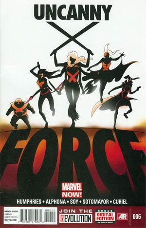 Uncanny X-Force Vol 2 #6 Cover A Regular Kris Anka Cover