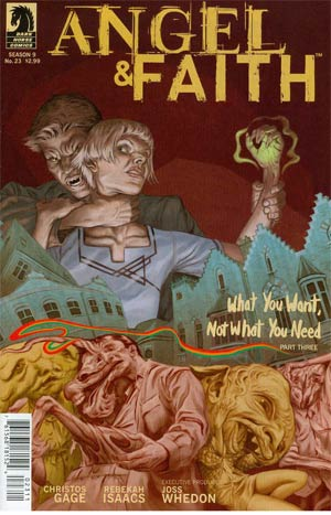 Angel And Faith #23 Cover A Regular Steve Morris Cover
