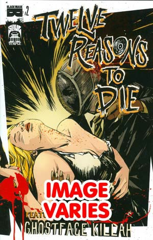 DO NOT USE (DUPLICATE LISTING) 12 Reasons To Die #2 (Filled Randomly With 1 Of 2 Covers)