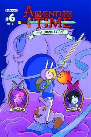 DO NOT USE - Adventure Time Fionna & Cake #6 Regular Cover