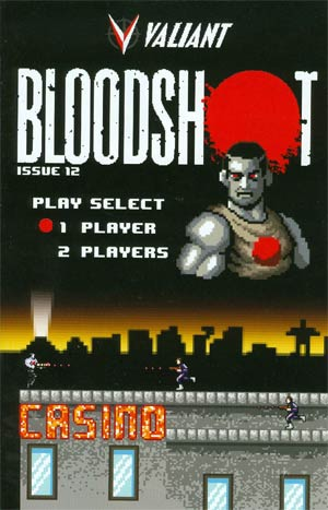 Bloodshot Vol 3 #12 Cover B Variant 8-Bit Cover (Harbinger Wars Tie-In)
