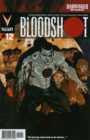 Bloodshot Vol 3 #12 Cover A Regular Kalman Andrasofszky Cover (Harbinger Wars Tie-In)