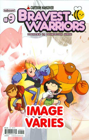DO NOT USE Bravest Warriors #9 Regular Cover (Filled Randomly With 1 Of 2 Covers)