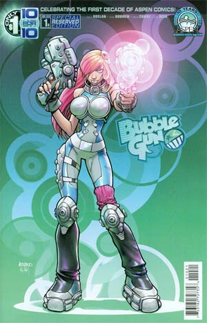 Bubblegun #1 Cover B Regular Aspen Reserved Cover