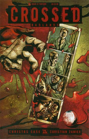 Crossed Badlands #31 Cover C Torture Cover