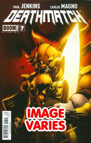 DO NOT USE - Deathmatch #7 Regular Cover (Filled Randomly With 1 Of 2 Covers)