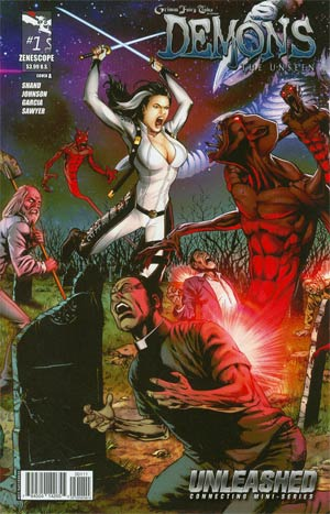 Grimm Fairy Tales Presents Demons The Unseen #1 Cover A Anthony Spay (Unleashed Tie-In)