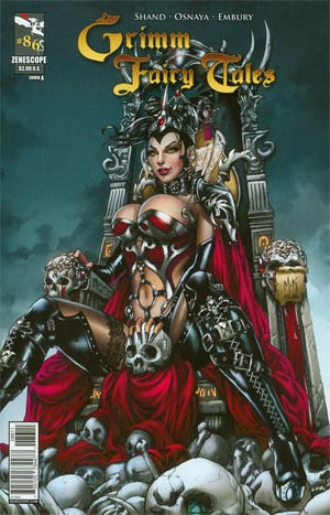 Grimm Fairy Tales #86 Cover A Mike Krome