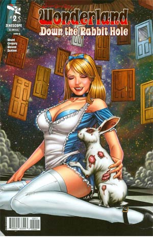 Grimm Fairy Tales Presents Wonderland Down The Rabbit Hole #2 Cover A Anthony Spay