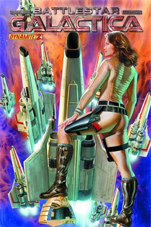 Battlestar Galactica Vol 5 #2 Cover A Regular Alex Ross Cover