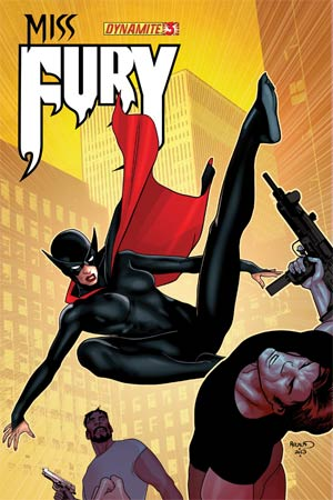 Miss Fury Vol 2 #3 Cover B Regular Paul Renaud Cover