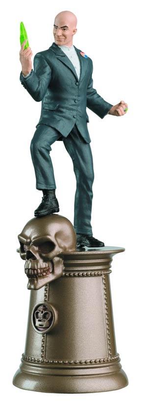 DC Superhero Chess Figure Collector Magazine #38 Lex Luthor Black King