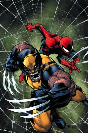 Savage Wolverine Spider-Man By Joe Madureira Poster
