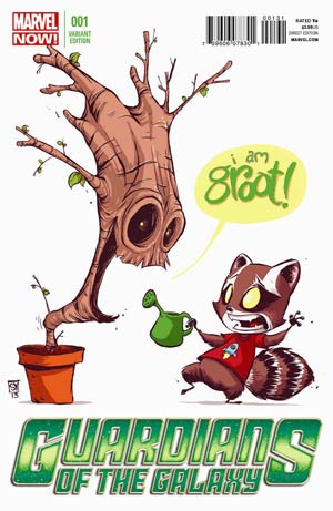 Guardians Of The Galaxy Vol 3 #1 Cover D Variant Skottie Young Baby Cover