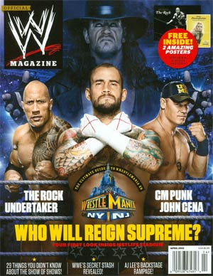 WWE Magazine #87 Apr 2013