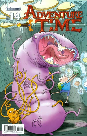 Adventure Time #14 Cover A Mike Holmes