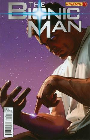 Bionic Man #18 Regular Ed Tadeo Cover
