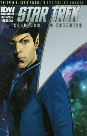 Star Trek Countdown To Darkness #3 Regular Cover A David Messina