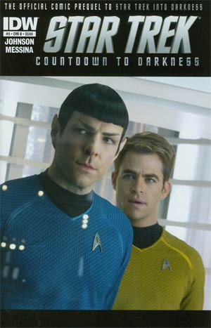 Star Trek Countdown To Darkness #3 Regular Cover B Photo
