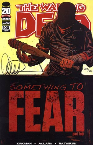 Walking Dead #100 DF Signed By Charlie Adlard 1st Ptg Regular Cover A Charlie Adlard